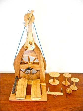 Bluebonnet CUSTOM Made Spinning Wheels **